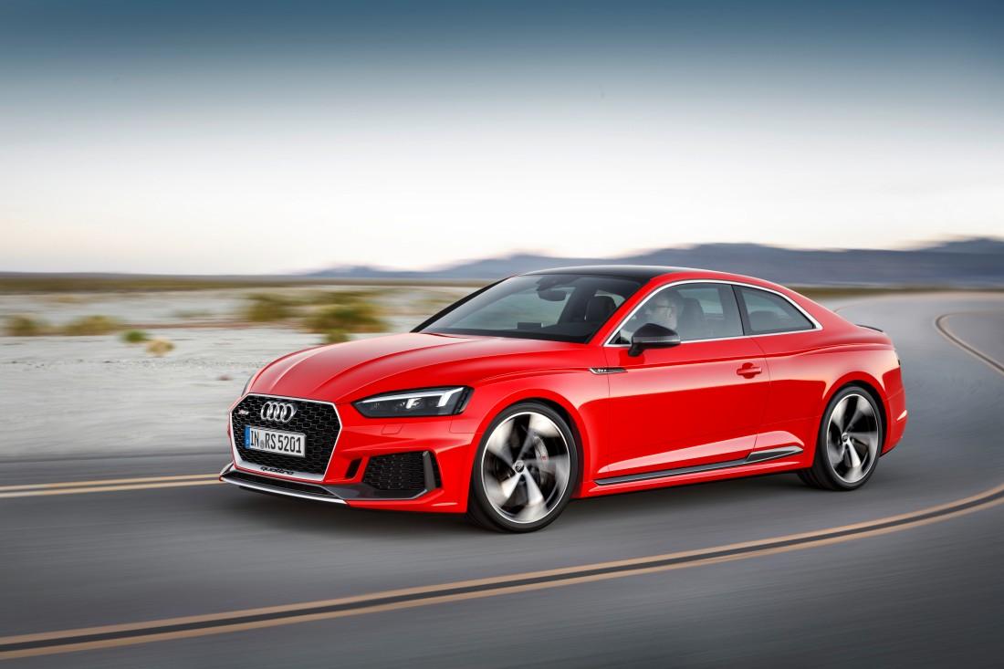 2018 Audi RS 5 Coupé Front