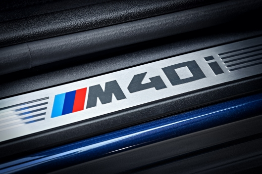 2018 BMW X3 M40i Door Badge