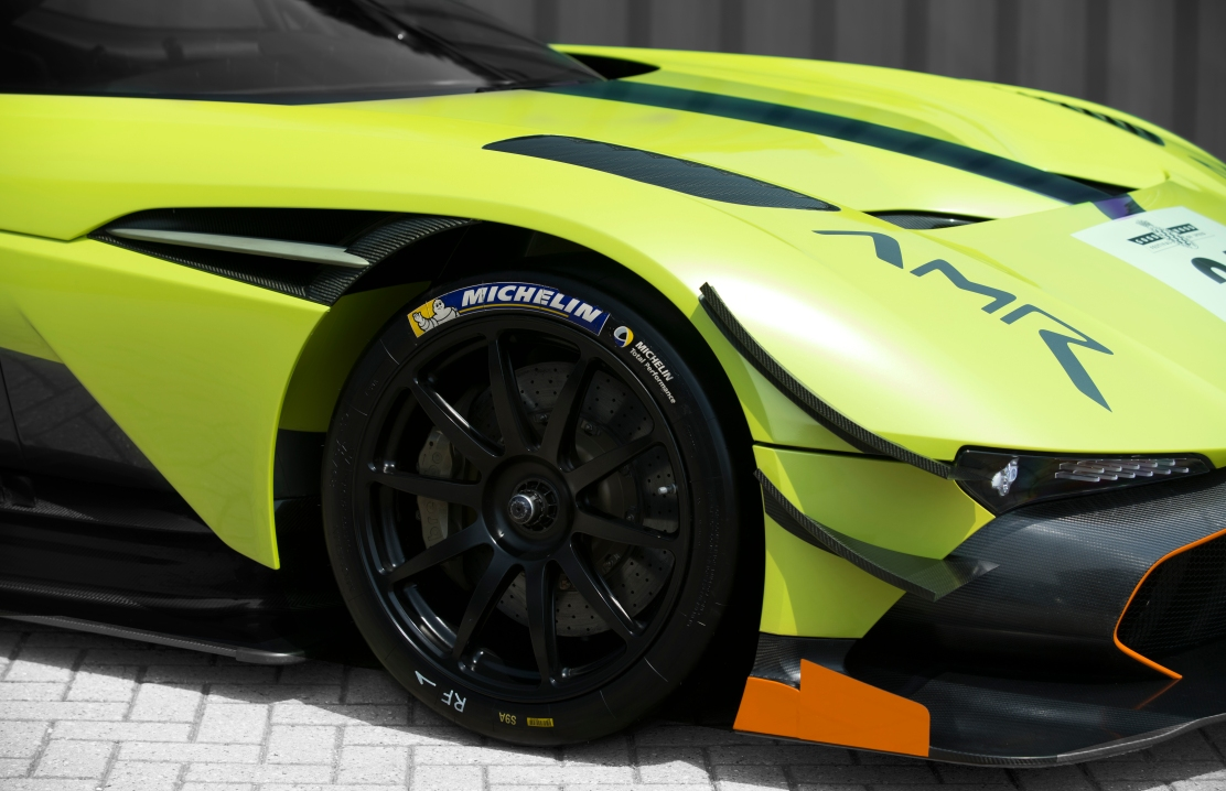 Aston Martin Vulcan AMR Pro Close Up Front