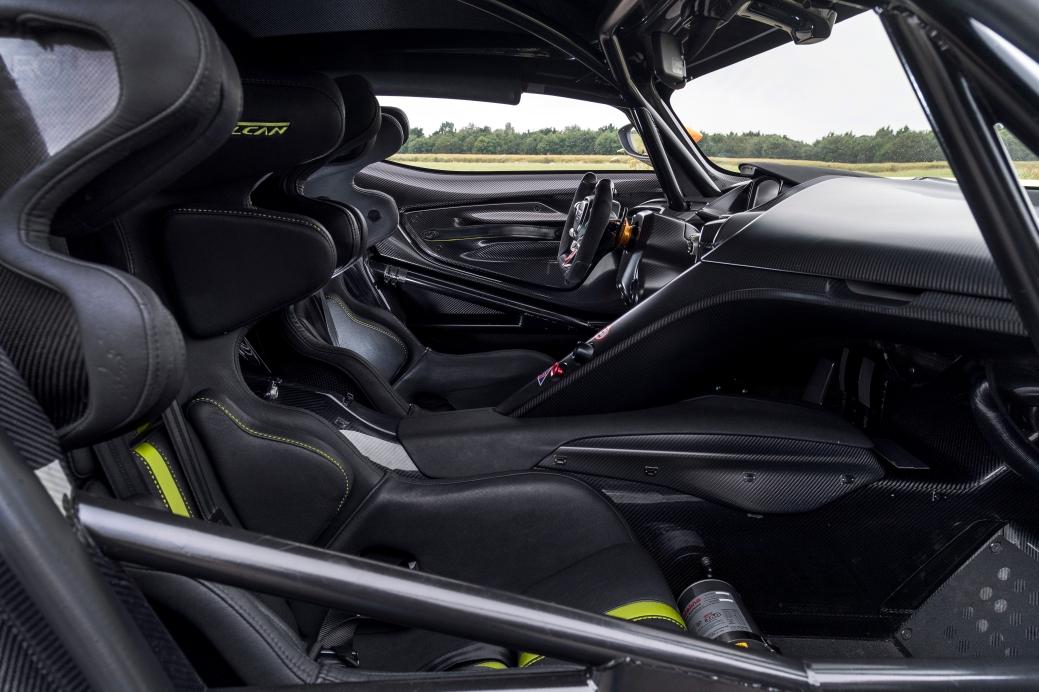 Aston Martin Vulcan AMR Pro Interior