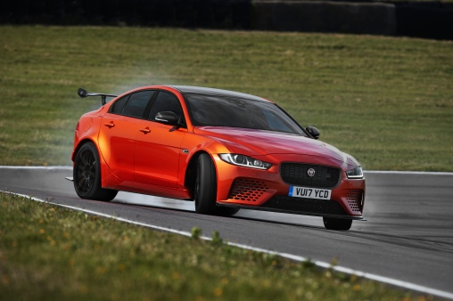 Jaguar XE SV Project 8 Drift On Track