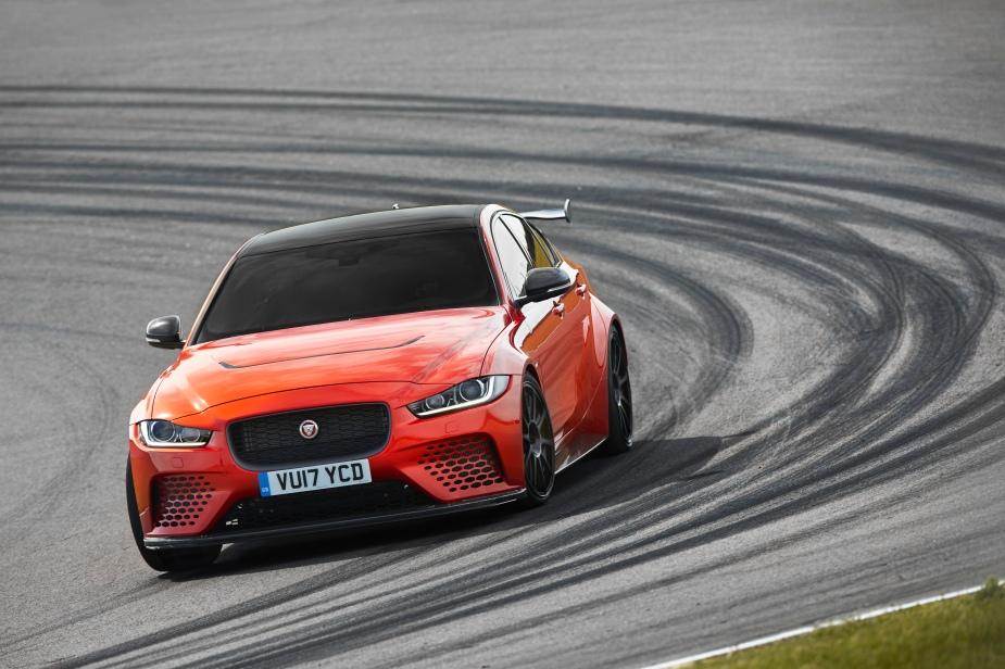 Jaguar XE SV Project 8 Front Track 2