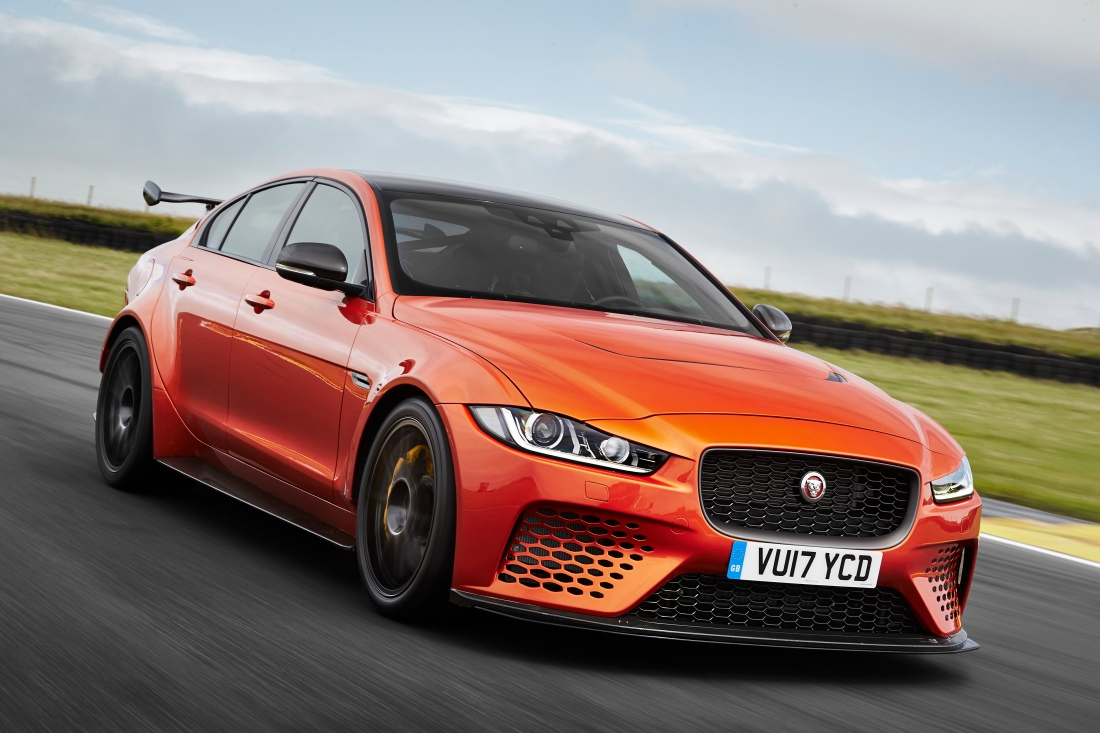 Jaguar XE SV Project 8 Front