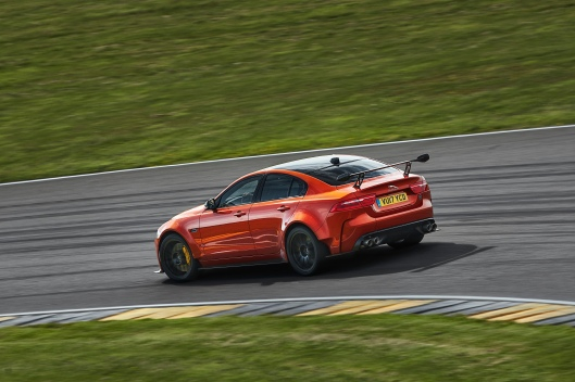 Jaguar XE SV Project 8 Rear Track