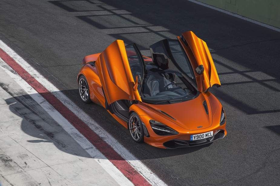 McLaren 720 S Made From Legos (2)