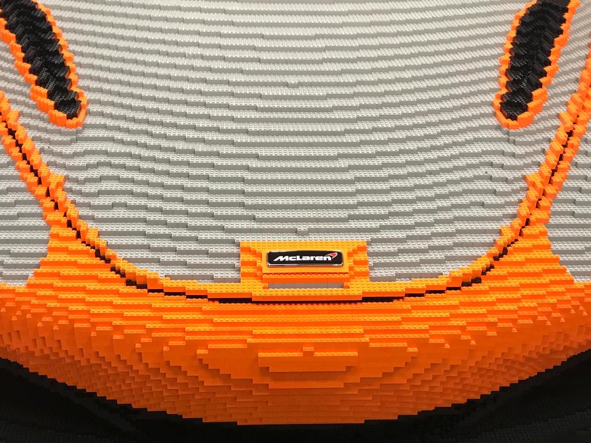 McLaren 720 S Made From Legos