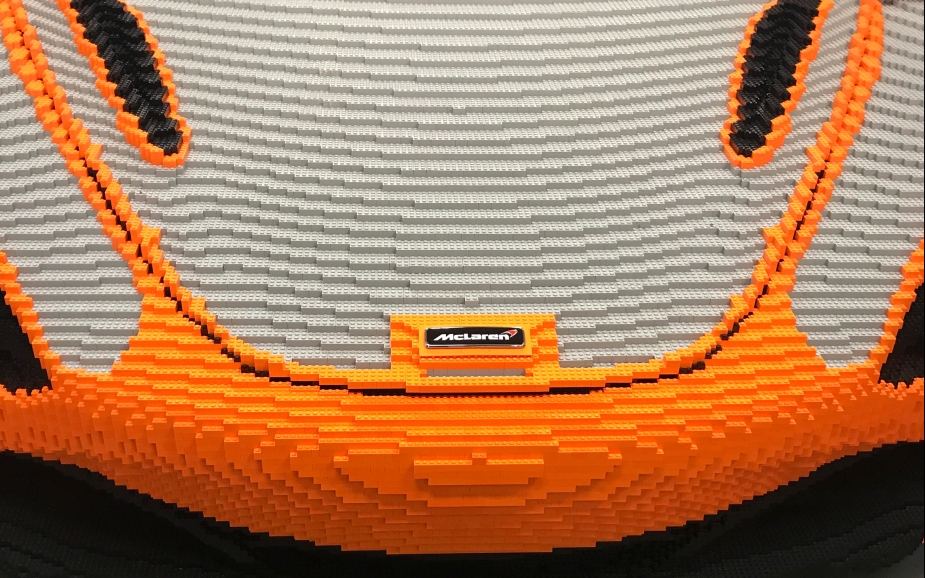 McLaren 720 S Made From Legos