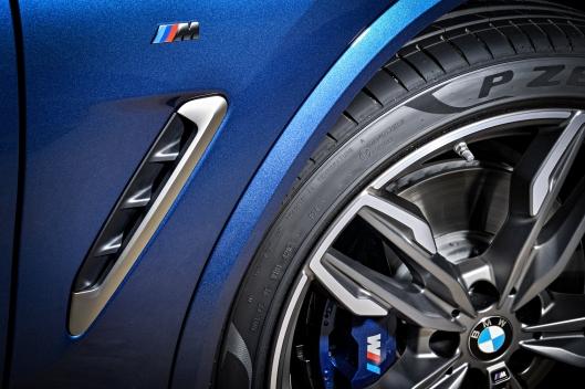 2018 BMW X3 M401 Side Vents