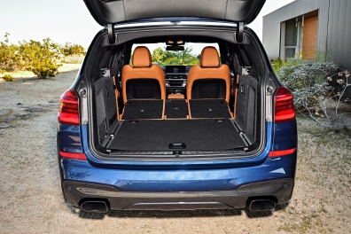 2018 BMW X3 M401 Storage Space