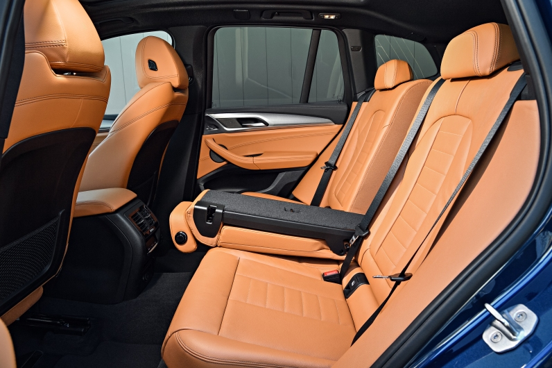 2018 BMW X3 M401 Rear Seats