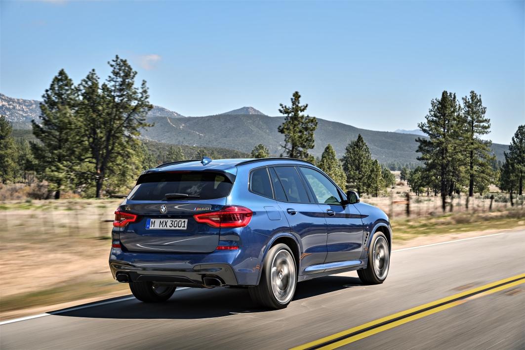 2018 BMW X3 M401 Rear