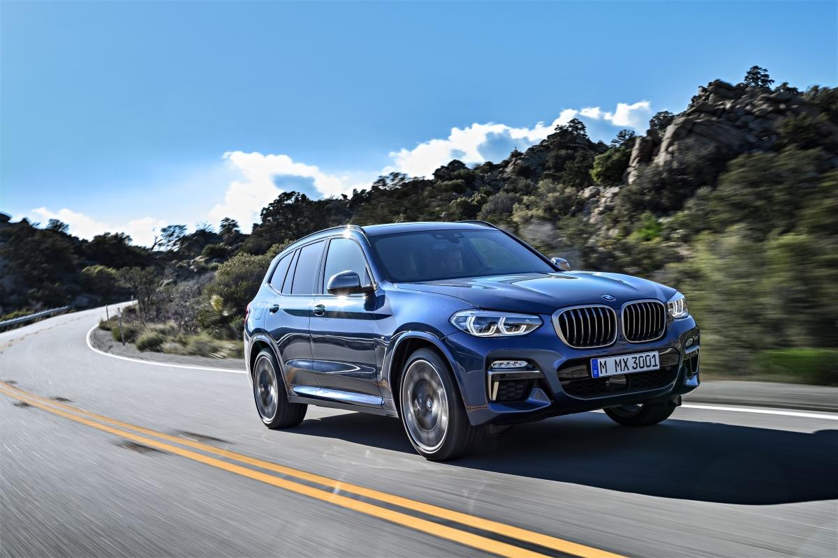 2018 BMW X3 M401 Front