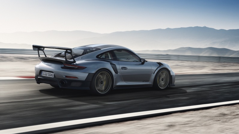 Porsche 911 GT2 RS Rear SIde 2