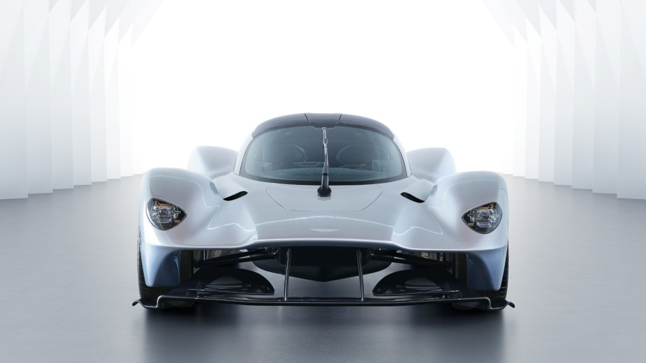 Aston Martin Valkyrie Front CLose