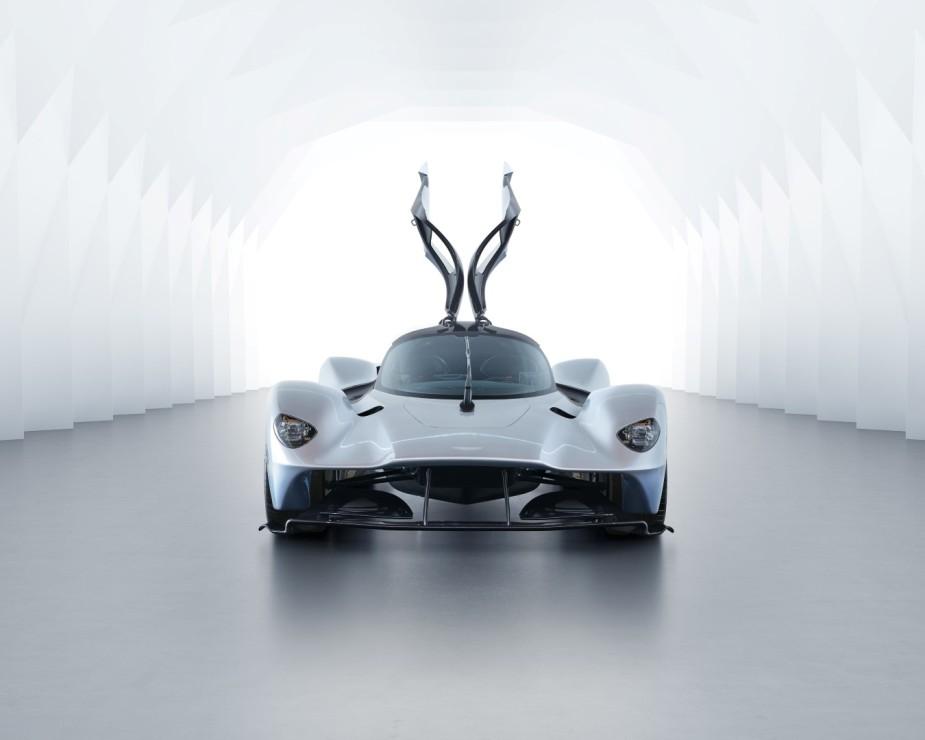 Aston Martin Valkyrie Front Doors Open