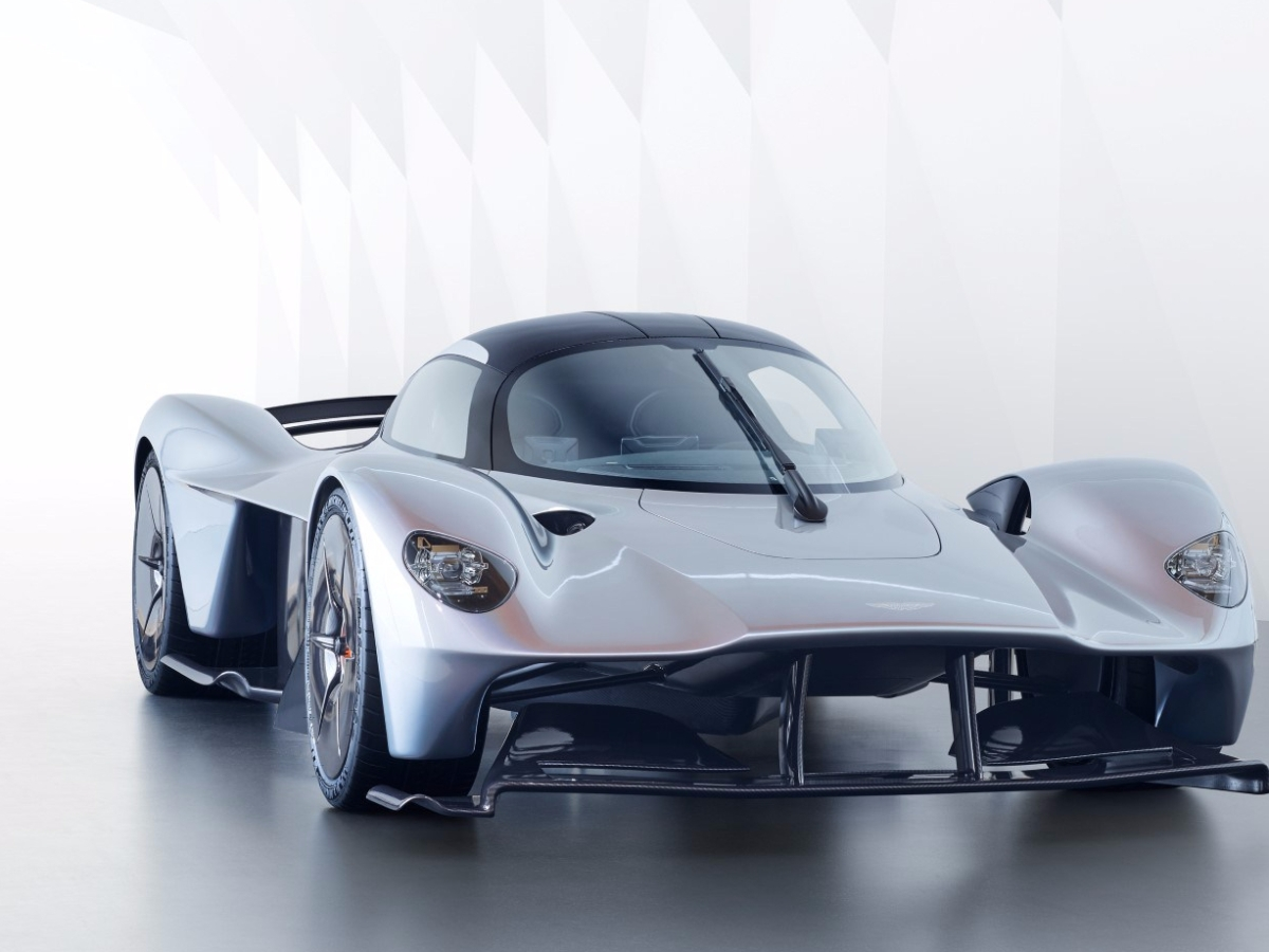 Aston Martin Valkyrie Front Side