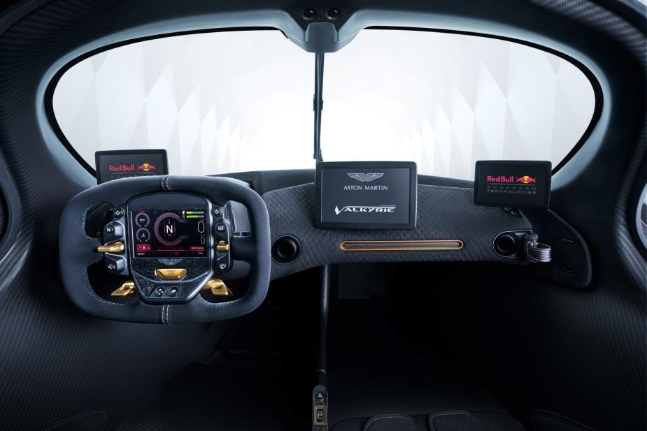 Aston Martin Valkyrie Interior 2