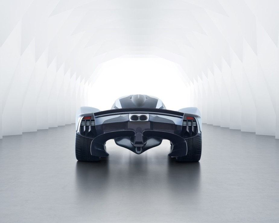 Aston Martin Valkyrie Rear Low