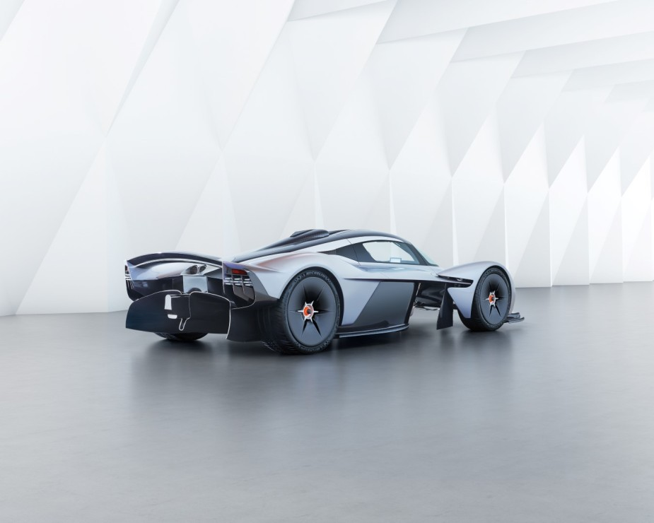 Aston Martin Valkyrie Rear Side