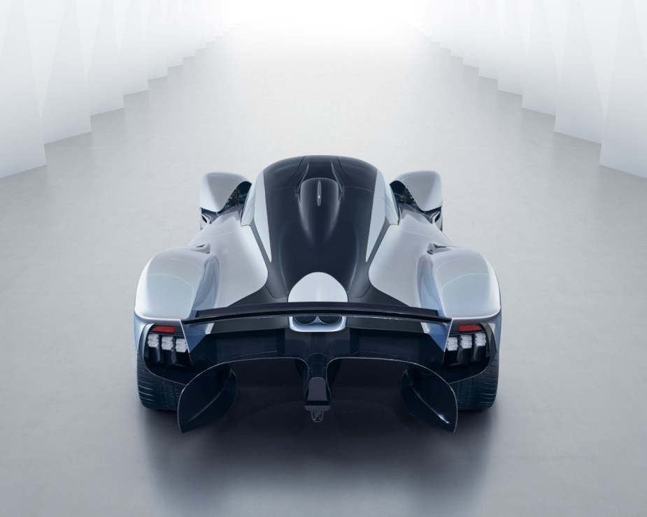 Aston Martin Valkyrie Rear Top