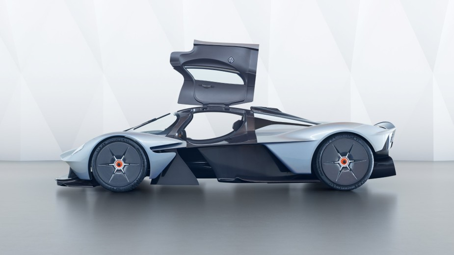 Aston Martin Valkyrie Side Door Open