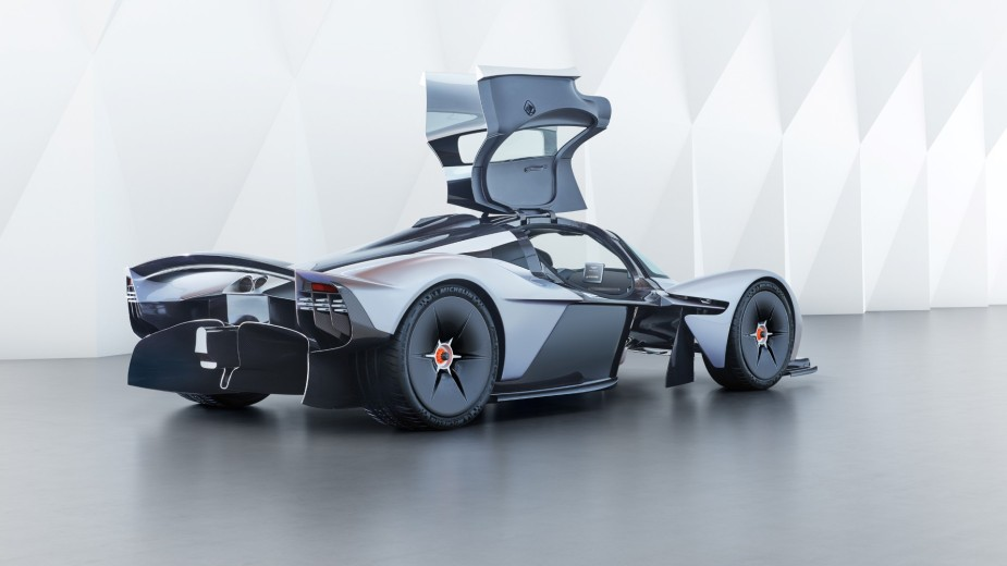 Aston Martin Valkyrie Side Rear Doors Open