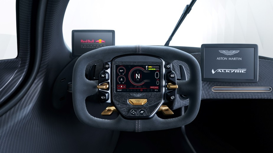 Aston Martin Valkyrie Steering Wheel