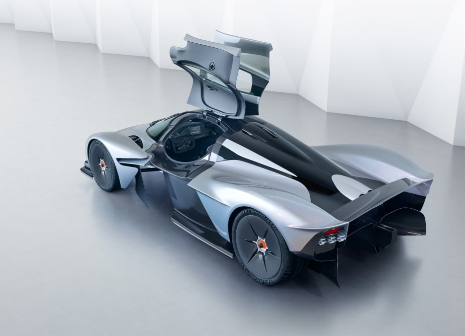 Aston Martin Valkyrie Top Rear Doors Open