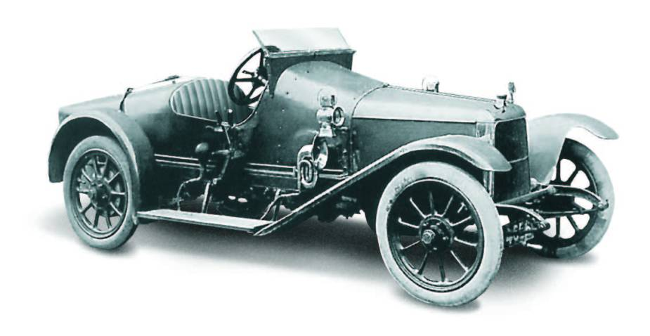 First Aston Martin - Coal Scuttle