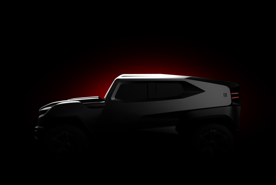 Rezvani SUV Teaser Side