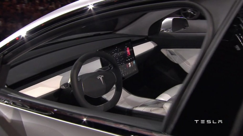 Tesla Model 3 Interior 2