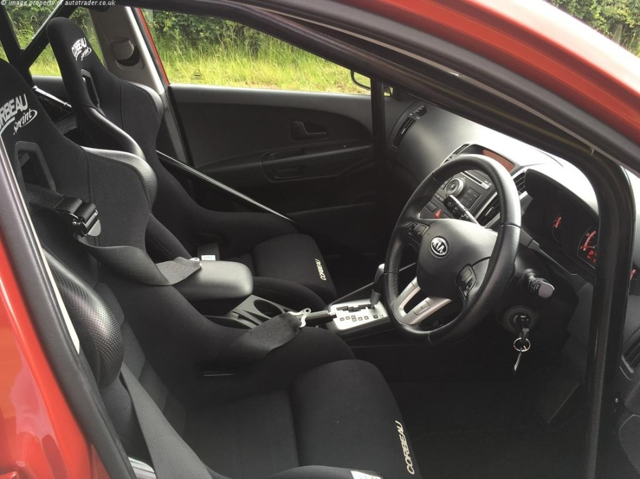 Top Gear Kia Ceed Reasonably Priced Car Interior