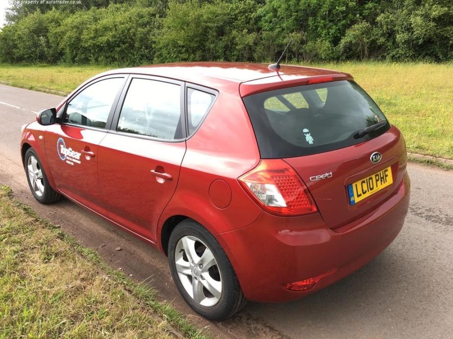 Top Gear Kia Ceed Reasonably Priced Car Rear
